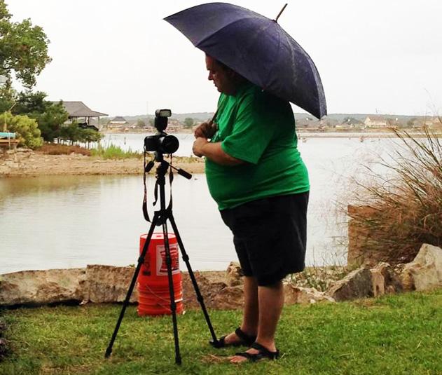 Jonathan with camera