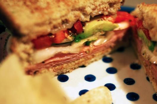 Sandwich inside