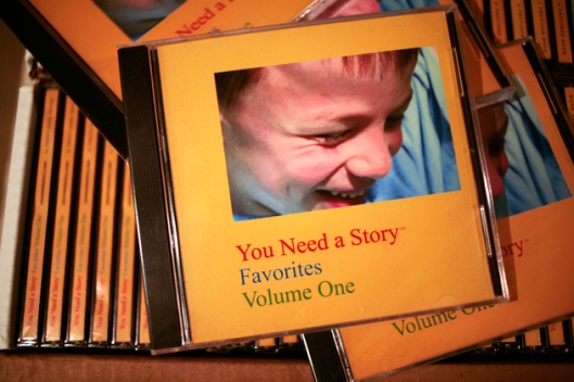 You Need a Story audio CDs